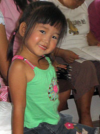Child in Thailand