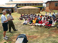 Scotty Furrh in Kenya