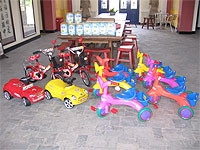 Baby formula and bikes donated to Philip Hayden