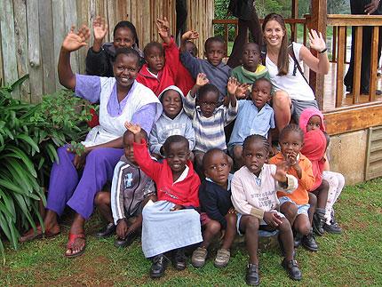 Orphans in Kenya