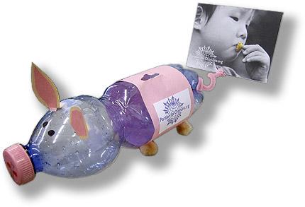 Portion for Orphans Piggy Bank