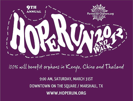 Hope Run & Walk 2012