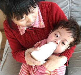 Child cared for at New Hope Foundation, China