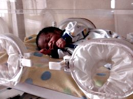 Infant rescued by New Life Home Trust
