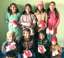 Children at Faith Children's Home, Nepal
