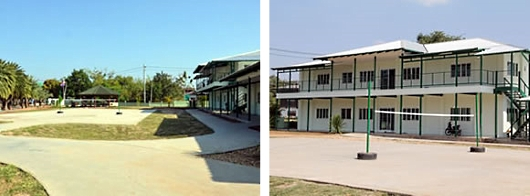 Expanded children's village at Mercy International, Thailand.